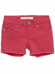 Joe�s Jeans Red Cut Off Shorts