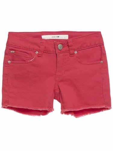 Joe's Jeans Red Cut Off Shorts