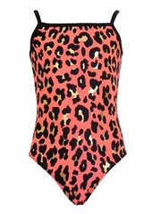 K-Bee Leotards Bobcat Coral Camisole
