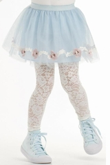 CLEARANCE - Kate Mack Blue Gateau Tulle Skirt