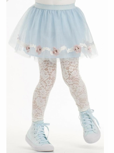 Kate Mack Blue Gateau Tulle Skirt