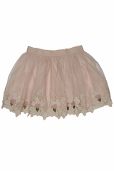 Kate Mack Ivory Sweet Escape Skirt