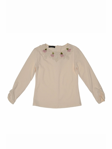 Kate Mack Ivory Sweet Escape Tee