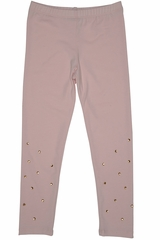 Kate Mack Pink Spun Gold Legging