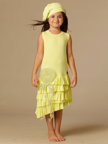 KidCuteTure Mia Citrus Dress