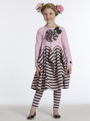 KidCuteTure Rose Amy Dress
