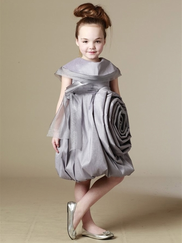 KidCuteTure Silver Sonya Dress