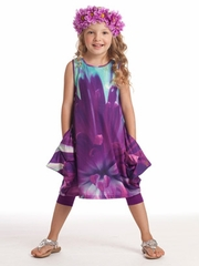 KidCuteTure Violet Fiona Dress