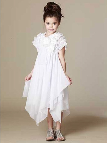FLASH SALE: KidCuteTure White Ariana Dress
