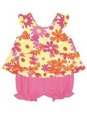 CLEARANCE - Le Top Awesome Blossom Popover & Bloomer