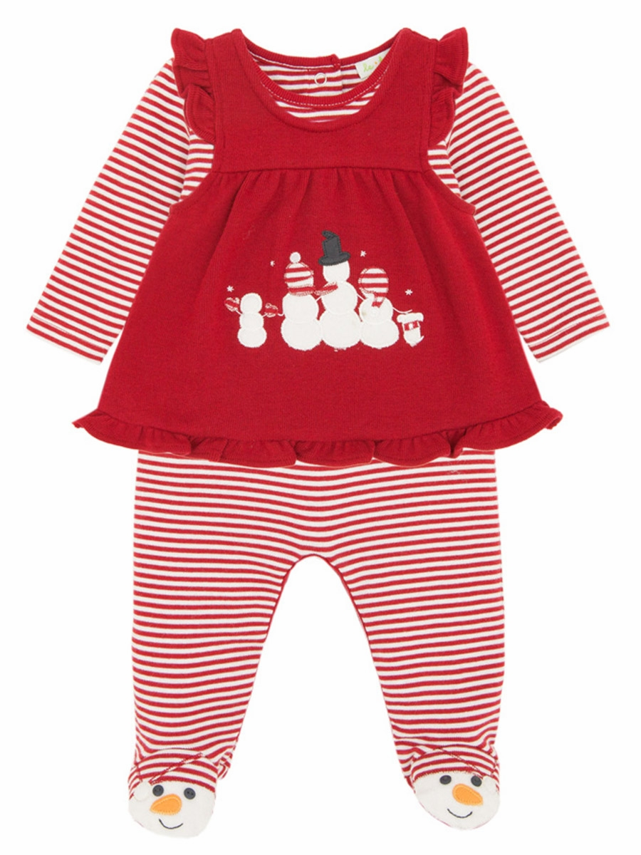 26e01d38a6b9 ... Le Top Baby Frosty   Family Footed Stripe Jumpsuit   Pinafore. Click to  Enlarge Click to Enlarge