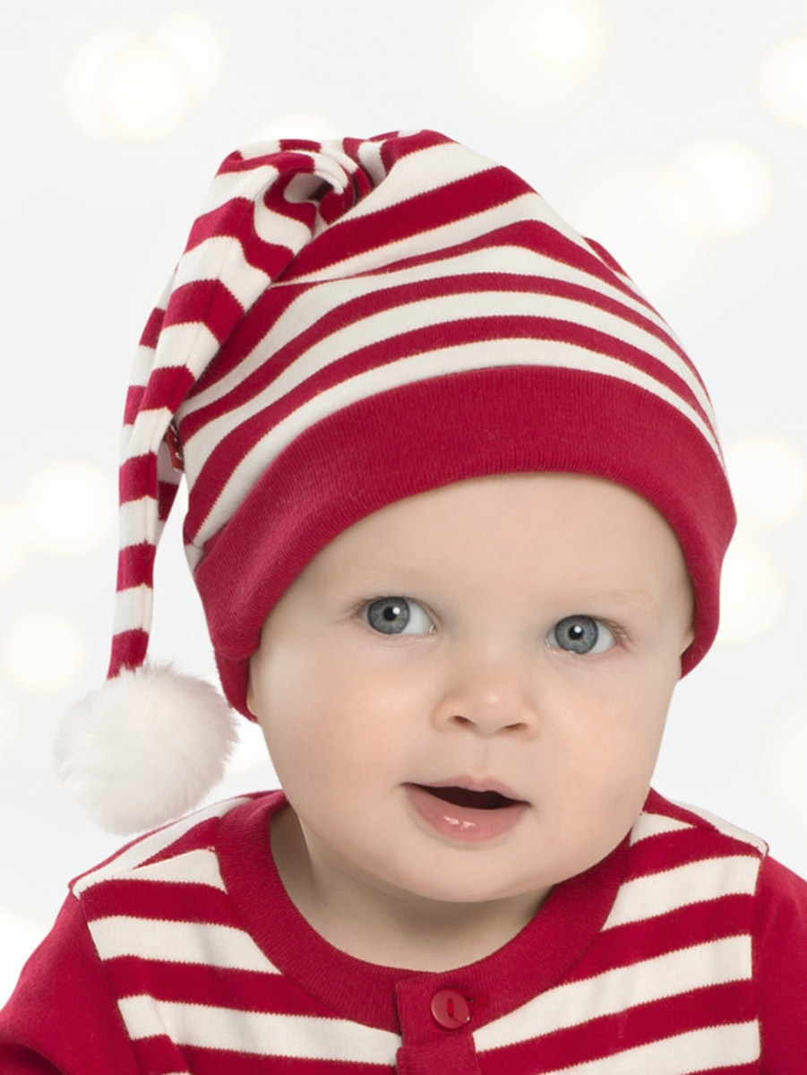 04753a8fcc5b ... Le Top Baby Reindeer Cheer Red Stripe Long Cap. Click to Enlarge ...