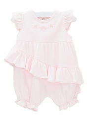 Le Top Baby Sweet Elegance Bubble w/ Asymmetrical Ruffle