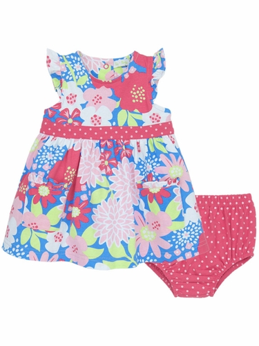 Le Top Lexi's Garden Periwinkle Dress & Panty