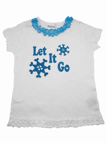 Let It Go Ruffle Tee