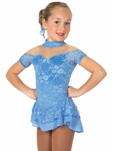 CLEARANCE - Jerry's 24 Light Blue Lacy Belle Dress