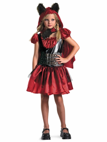 Lil' Red Riding Rage Kids Costume