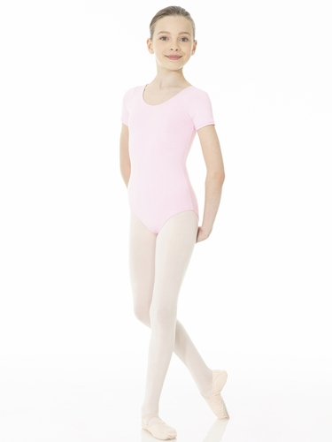 Mondor Lilac Essentials Short Sleeve Leotard