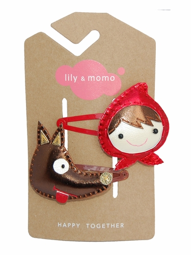 Lily & Momo Big Bad Wolf Hair Clip