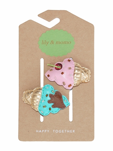 Lily & Momo Ice Cream Hair Clip