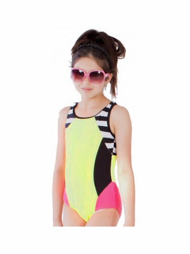 "Limeapple 1PC Under the Ocean ""Grouper"" Swimsuit"