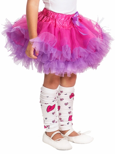 Little Adventures Fuchsia & Purple Fluffy Tutu