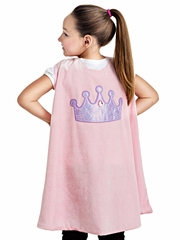 Little Adventures Girl Crown Cape