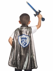 Little Adventures Knight Cape & Sword Set