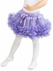 Little Adventures Lavender Fluffy Lace Tutu