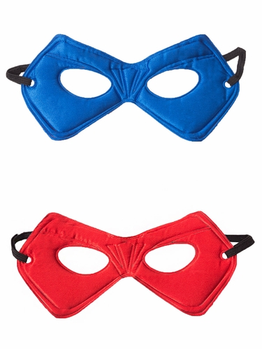 Little Adventures Red & Blue Power Mask Set
