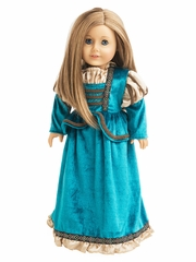 Little Adventures Scottish Princess Doll Dress
