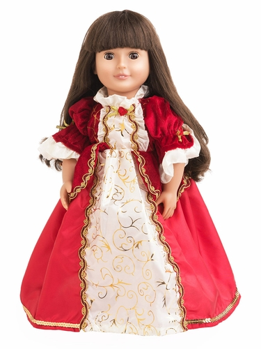 Little Adventures Winter Beauty Doll Dress