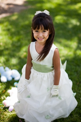 Small Sizes But Big Style Flower Girl Dresses