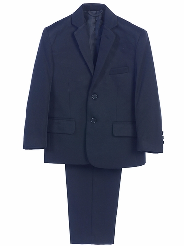 Little Gents 3580 Boy's Navy 2PC Suit