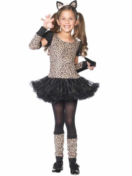 ... Cat Tutu Child Costume for Girls. Click to Enlarge Click to Enlarge  sc 1 st  Pink Princess & Little Leopard Cat Tutu Child Costumer for Girls