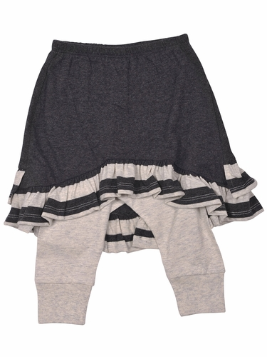 Little Wings Gray Legging w/ Skirt