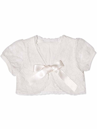 MaeLi Rose White Bolero