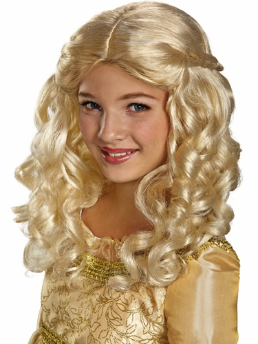 Maleficent Aurora Child Wig