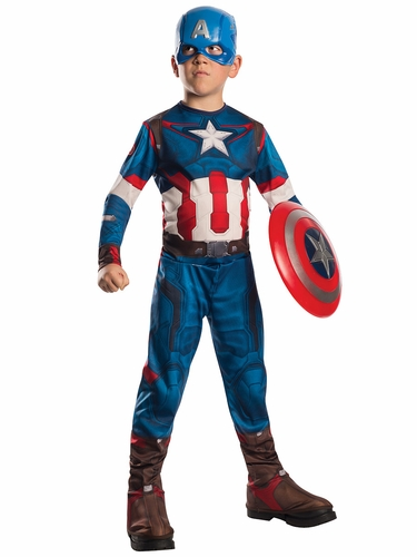 Marvel Avengers Age Of Ultron Captain America Costume