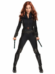 Marvel Civil War Black Widow Adult Costume