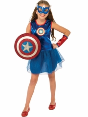 Marvel Girls American Dream Costume