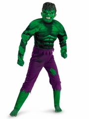 Marvel Hulk Movie Classic Muscle Boys Costume
