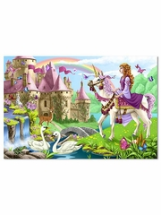 Melissa & Doug - Fairy Tale Castle Princess Floor Puzzle