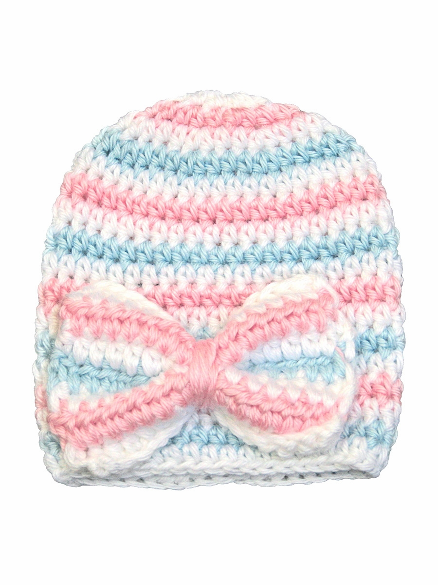 ... Melondipity Crochet Newborn Hospital Baby Hat. Click to Enlarge f688c393815