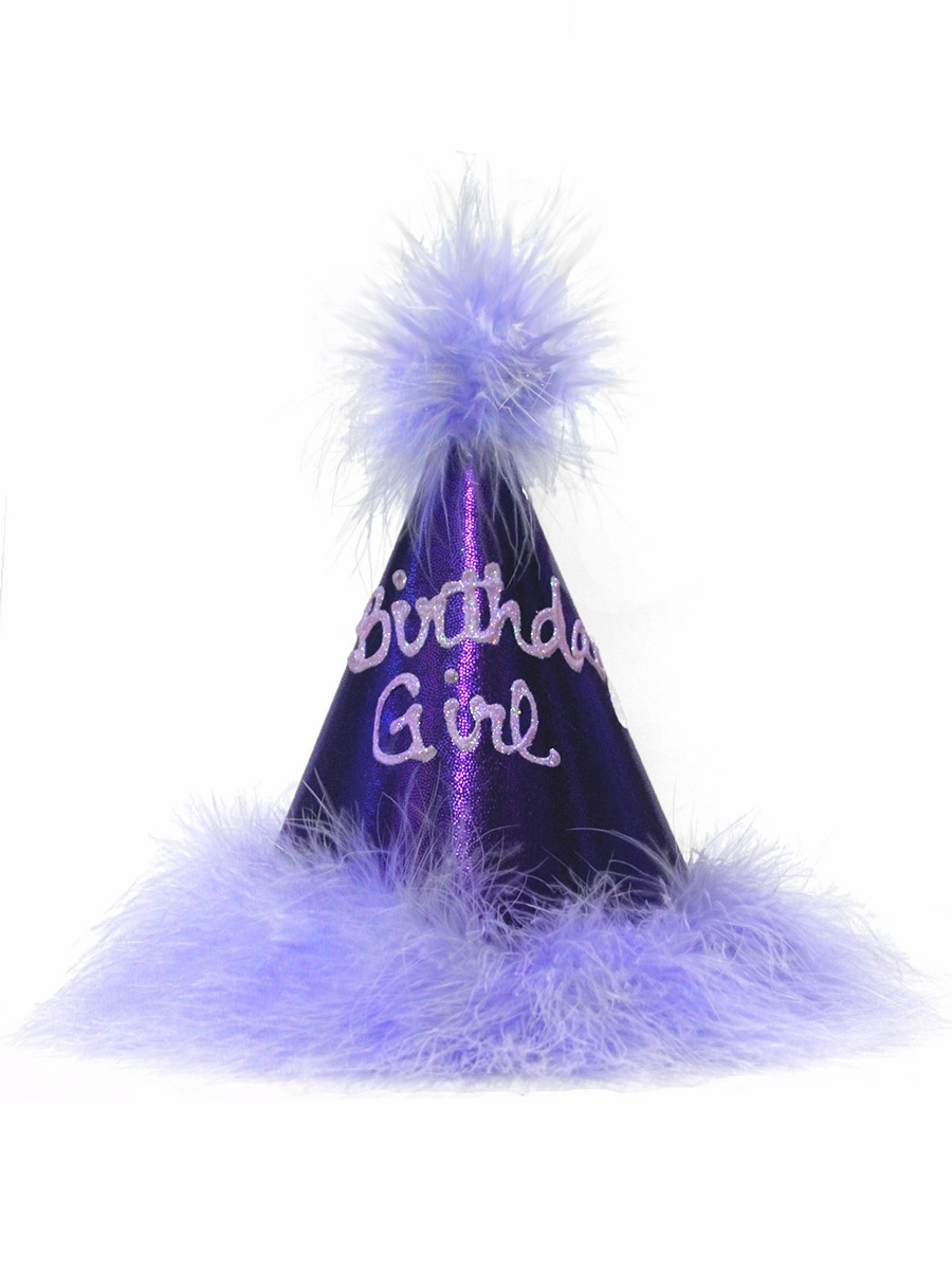 Purple Birthday Princess Party Hat Click To Enlarge
