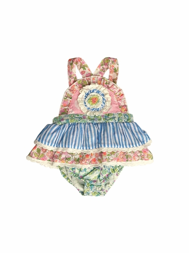 Mimi & Maggie Beach House Collection Babies Vintage Sunshine Romper