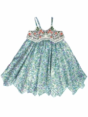 CLEARANCE - Mimi & Maggie Beach House Collection Little Blossoms Dress