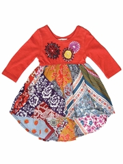 Mimi & Maggie Craft Market Babies Collection Twirling Bandana Scarves Dress