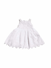 CLEARANCE - Mimi & Maggie Family Portraits Summer Weddings Jolie Baby White Dress