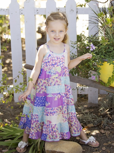 Mimi & Maggie Flower Farms Stand Dress